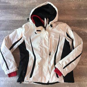 Hrya Ski Jacket White Womens Large
